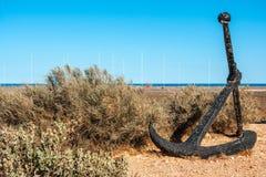 Old Anchor on West Cape bush land, Exmouth Australia.