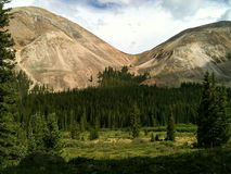 Exode de montagne Photographie stock