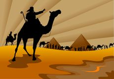 Exodus from Egypt Stock Photos