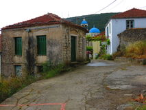 Exoghi Village, Ithaca Island, Greece Royalty Free Stock Photos