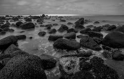 Exoosure lungo dell'oceano Fotografie Stock