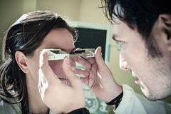 Exophthalmometer Royalty Free Stock Image