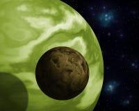Exoplanet Imagens de Stock Royalty Free