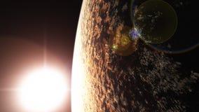 Exoplanet3 Fotos de archivo libres de regalías