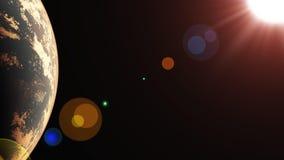 Exoplanet7 Fotos de archivo libres de regalías