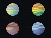 Exoplanets Royalty Free Stock Photo