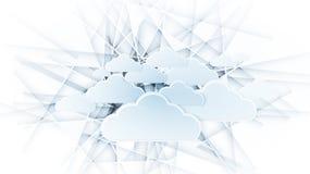 Exorbitant technologieconcept Virtuele macht van zaken Royalty-vrije Stock Afbeeldingen