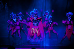 Exorcise--The historical style song and dance drama magic magic - Gan Po Stock Image