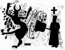 Exorcism Royalty Free Stock Image