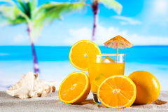 Exotic alcohol drinks, natural colorful tone Stock Image