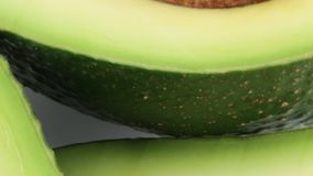 Exotic avocado fruit in season. Exotic avocado bio fruit in season stock video