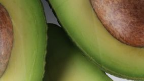 Exotic avocado fruit in season. Exotic avocado bio fruit in season stock footage