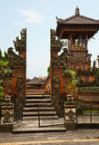 Exotic Balinese architecture Stock Photography