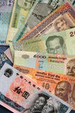 Exotic Banknotes Stock Photography