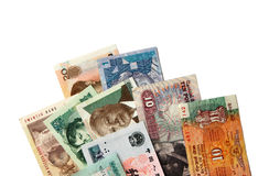 Exotic Banknotes Royalty Free Stock Photos