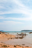 Exotic Bay of Rawai in Phuket island Stock Images