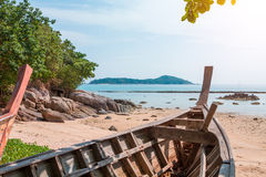 Exotic Bay of Rawai in Phuket island Stock Photos