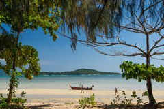 Exotic Bay of Rawai in Phuket island Stock Images