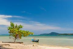 Exotic Bay of Rawai in Phuket island Royalty Free Stock Images