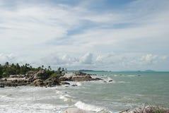 Exotic beach Stock Image
