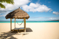 Exotic beach Stock Images