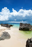 Exotic beach in Boracay Stock Images