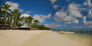 Exotic Beach in Dominican Republic, Punta Cana Stock Image