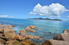 Exotic beach royalty free stock images