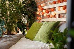 Exotic bedroom design Stock Photo