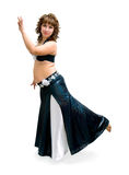 Exotic belly dancer Royalty Free Stock Photo