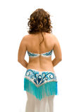 Exotic belly dancer Stock Photo