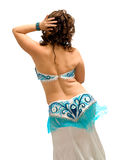 Exotic belly dancer Stock Image