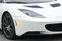 Exotic car front end Royalty Free Stock Photos