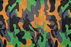 Exotic color camouflage as background. Or pattern Stock Image