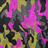 Exotic color camouflage as background Royalty Free Stock Photography