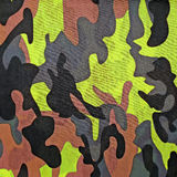 Exotic color camouflage as background Royalty Free Stock Photo