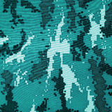 Exotic color digital camouflage as background or pattern Stock Images