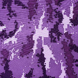 Exotic color digital camouflage as background or pattern Stock Photo