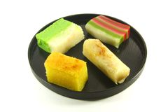 Exotic Colorful Traditional Cakes. Commonly Found in South Asia Royalty Free Stock Image