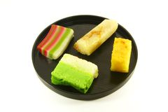 Exotic Colorful Traditional Cakes. Commonly Found in South Asia Royalty Free Stock Photos