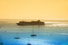 Exotic cruise vacation Stock Photography