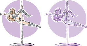 Exotic Dancer Stock Images