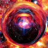 Exotic deep space formation abstract royalty free stock image