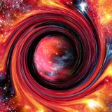 Exotic deep space formation abstract royalty free stock images