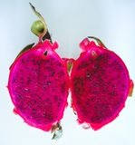 Exotic dragon fruit stock photo