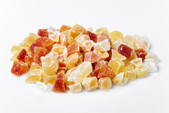 Exotic dried fruit royalty free stock images