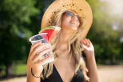Exotic drink Royalty Free Stock Images