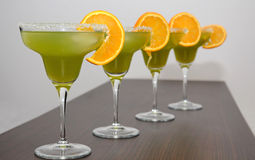 Exotic drinks Royalty Free Stock Images