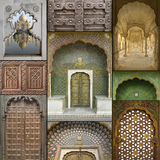 Exotic Eastern Windows & Doors Stock Photos