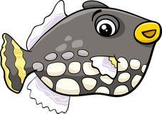 Exotic fish cartoon Stock Photography